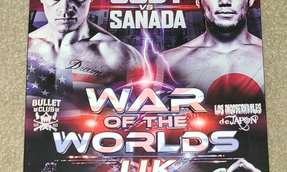ROH - World Of The Worlds : UK - 8/19/2017 - Liverpool