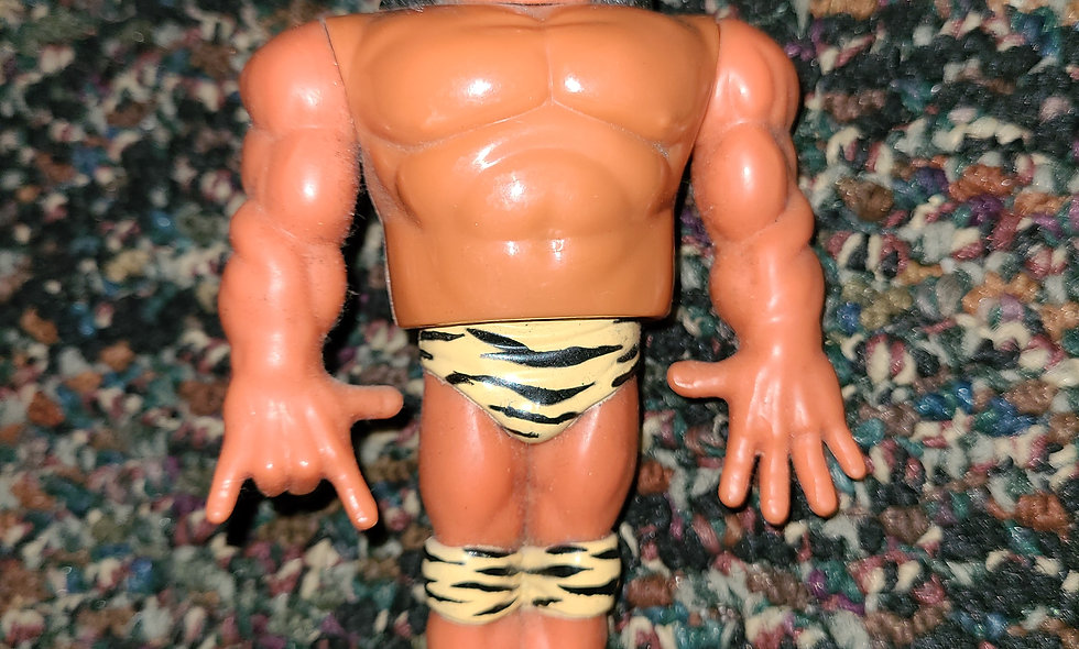 WWF Hasbro  - Superfly Jimmy Snuka - Action Figures - *Action Works
