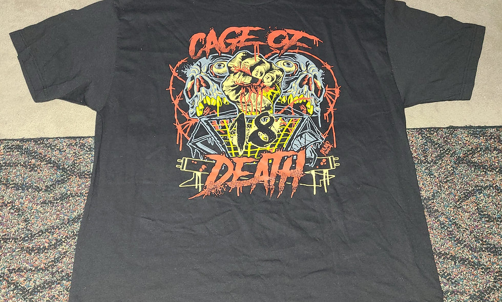 CZW - Cage Of Death 18 - 2x T-Shirt New