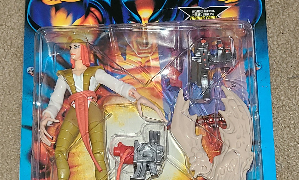 Marvel : Lady Deathstrike : X-Men Battle Brigade : ToyBiz 1996