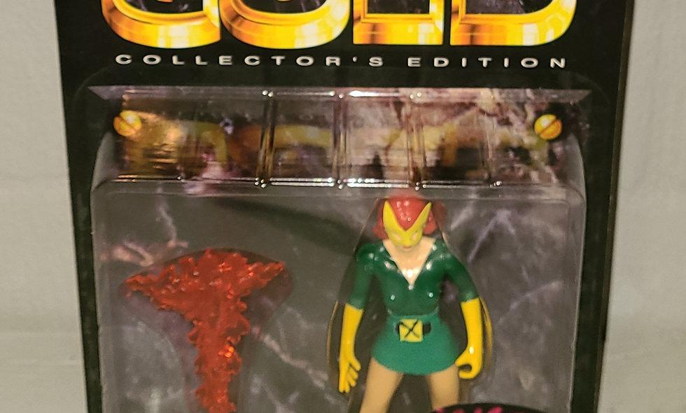 Marvel's Gold - Marvel Girl - Limited 1 of 10,000 - 1997 Toy Biz