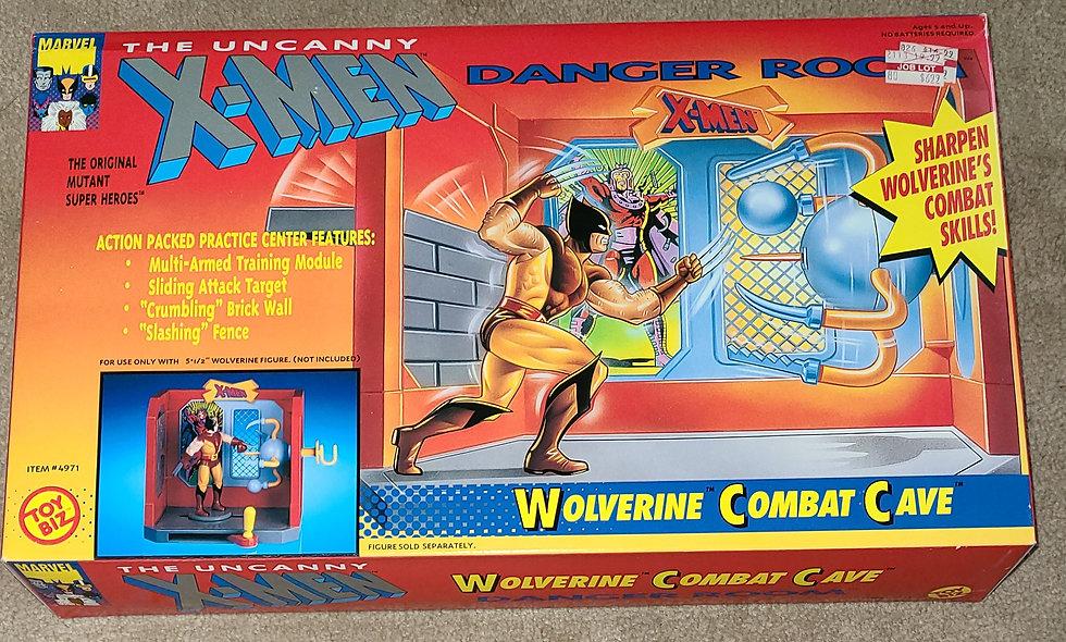 Marvel : Xmen Danger Room : Wolverine Combat Cave : ToyBiz