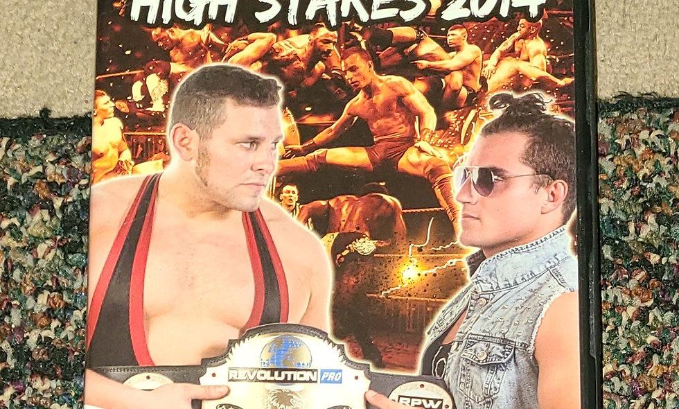 Revolution Pro UK - High Stakes : 3/15/14 - Wrestling Dvd