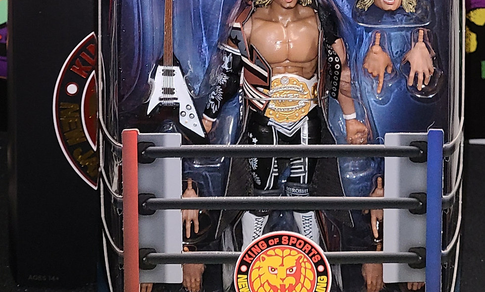 NJPW - Hiroshi Tanahashi Figure - Super 7