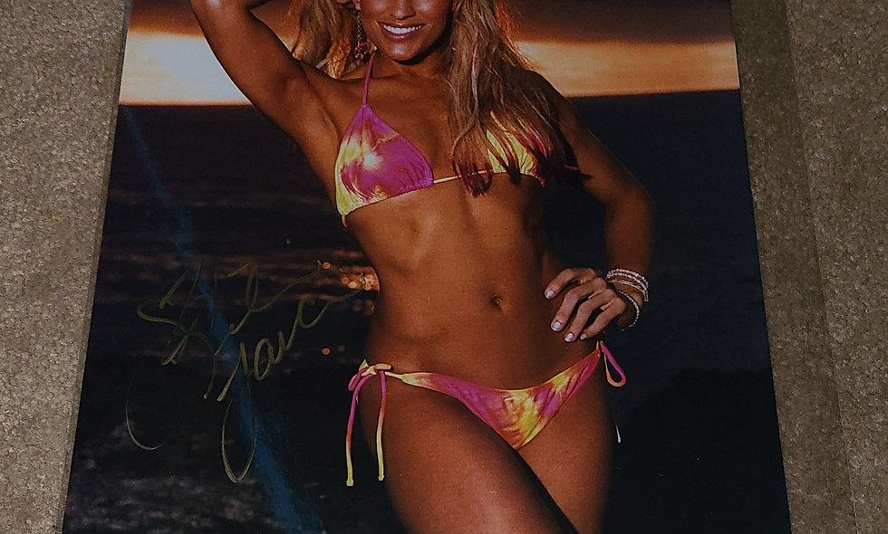 Lilian Garcia - WWE - Autographed 8×10