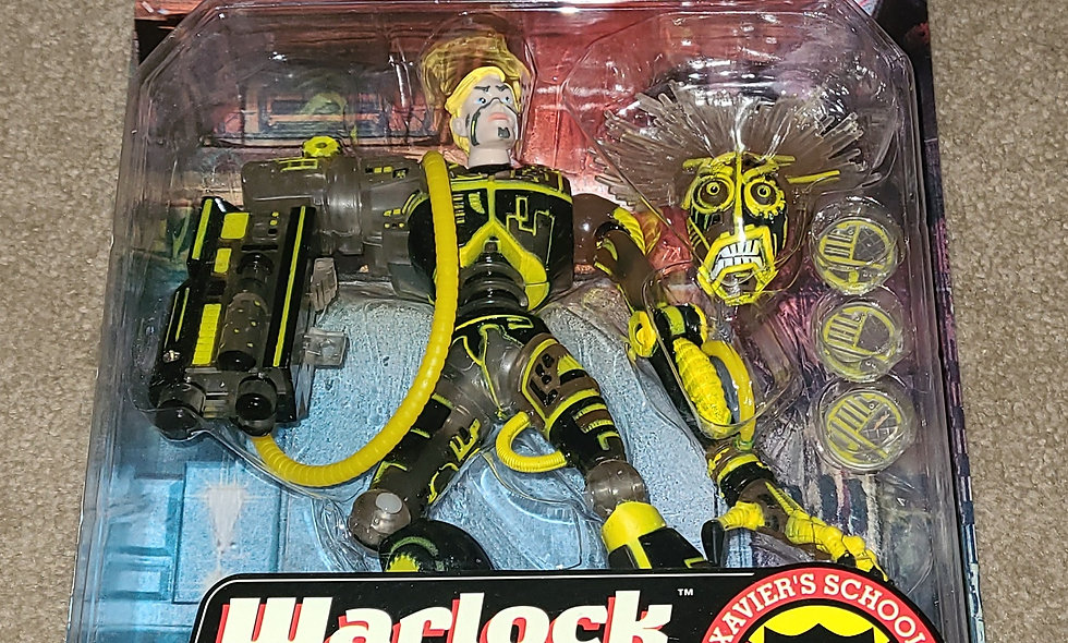 Marvel : Warlock : Xmen The New Mutants : ToyBiz  1998