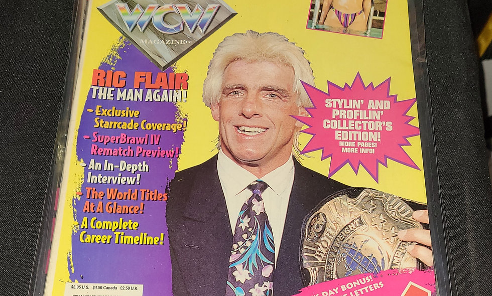 WCW Magazine  :  April 1994