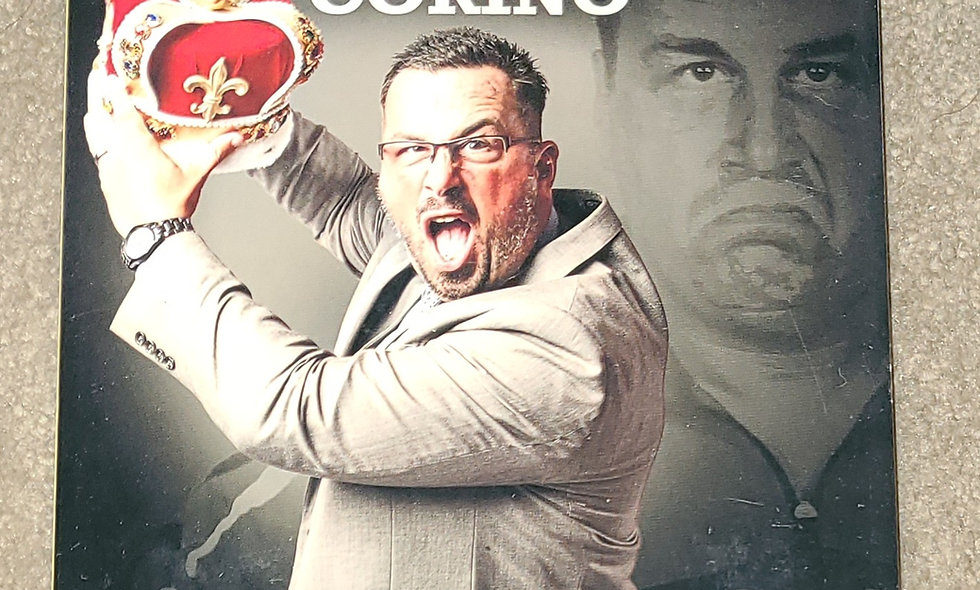 Steve Corino - The King Of Old School : The Worst Of - ROH Comp - 3 Disc Set