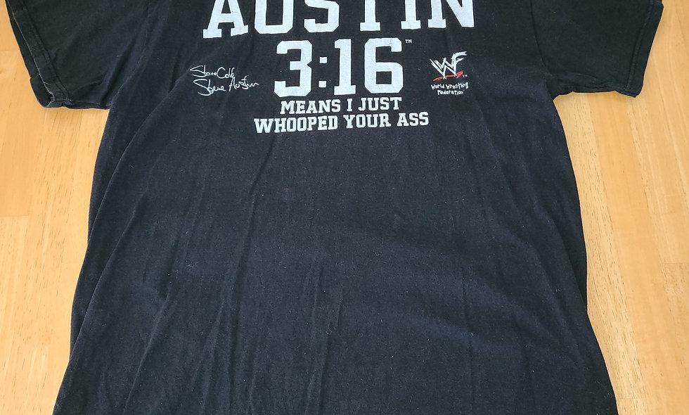 *Preowned  - Stone Cold Steve Austin (3:16) T-Shirt Size L