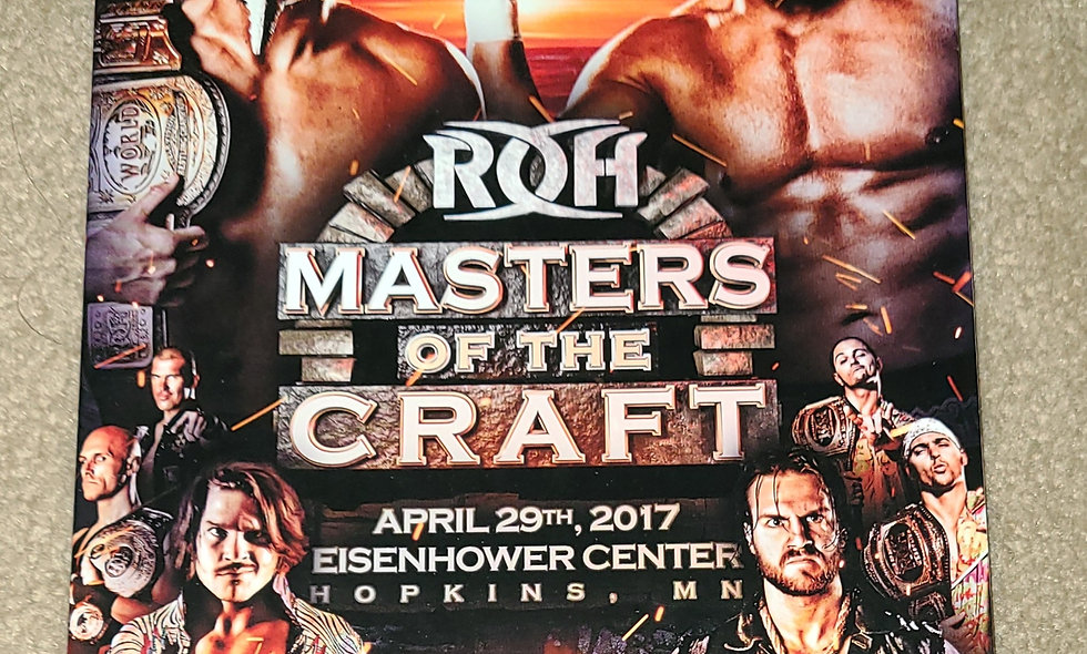 ROH - Masters Of The Craft - 4/29/2017 - Hopkins