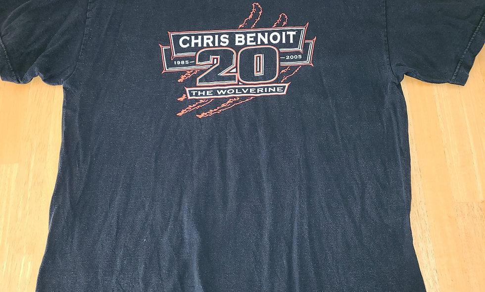 *Preowned  - Chris Benoit T-Shirt Size XL