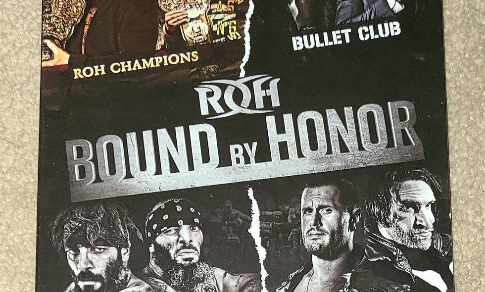 ROH - Bound By Honor - 2 Nights - 4/27, 4/28/2017 - West Palm Beach, Lakeland