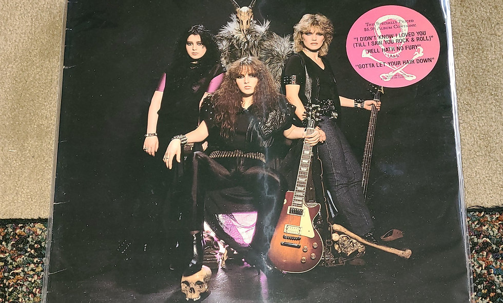 Rock Goddess : Hell Hath No Fury : A&M / 1984 / Good / Rock
