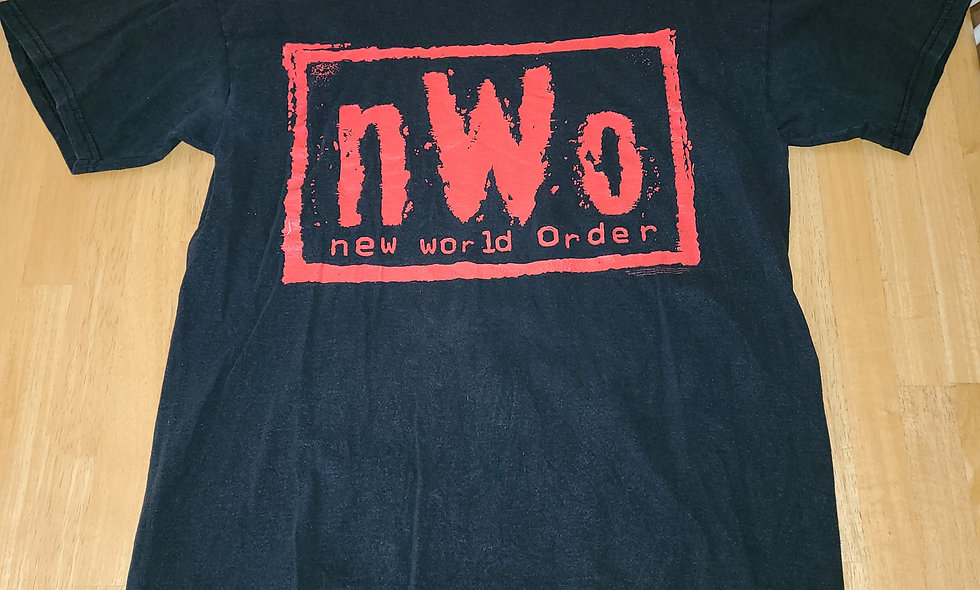 *Preowned  - NWO (Red Logo) T-Shirt Size L