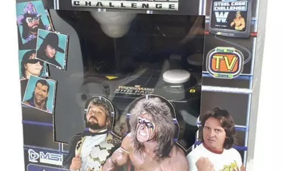 WWE - WrestleMania : Steel Cage Challenge - Plug & Play Video Game