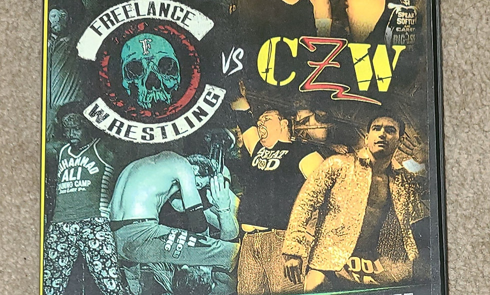 CZW - Freelance vs CZW : 7/8/16 - Dvd