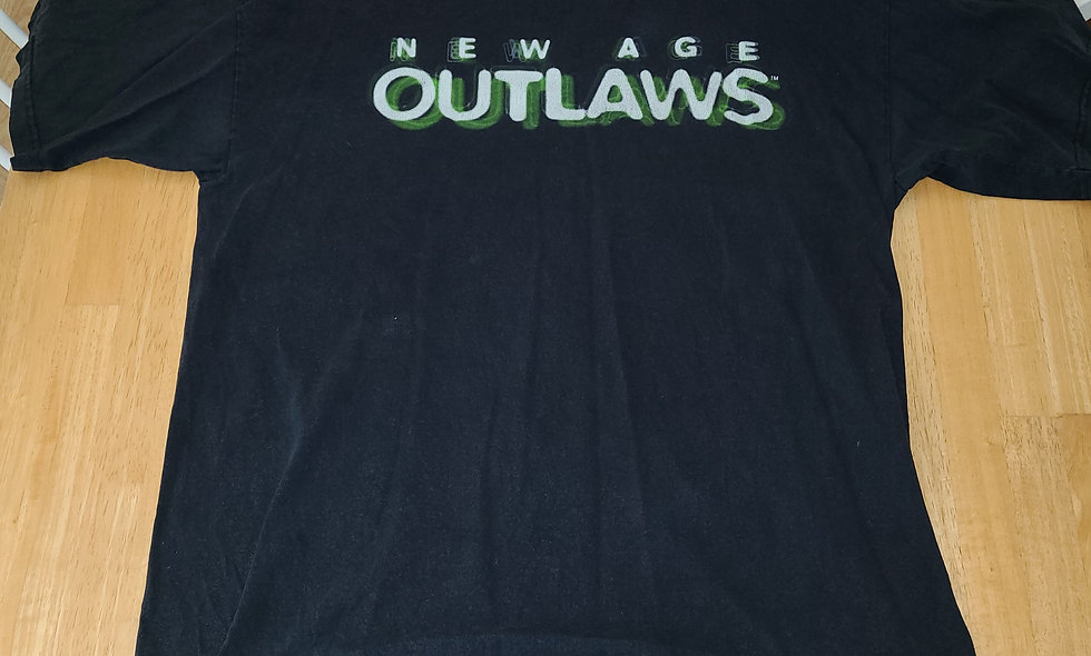 *Preowned  - New Age Outlaws T-Shirt Size XL