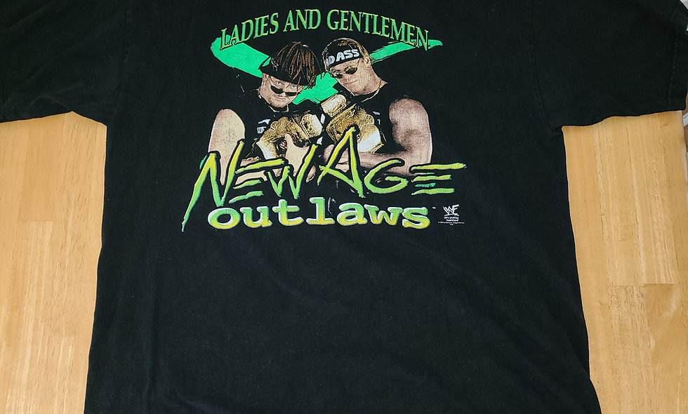 *Preowned  - New Age Outlaws (Ladies & Gentlemen) T-Shirt Size XL