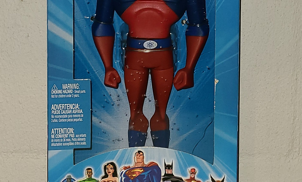"Justice League Unlimited - The Atom - 10"" Figure - 2005 Mattel"