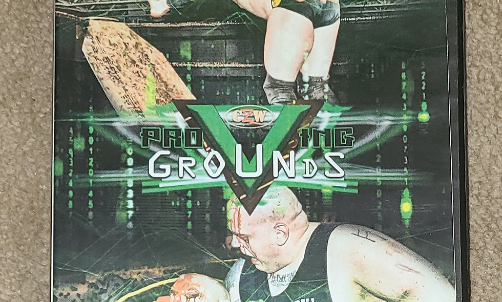 CZW - Proving Grounds 5 : 3/11/17 - Dvd