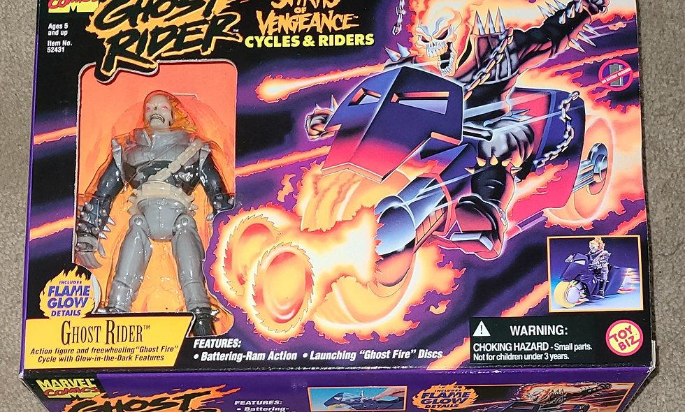 Marvel : Ghost Rider : Ghost Rider Spirits Of Vengeance : ToyBiz 1995