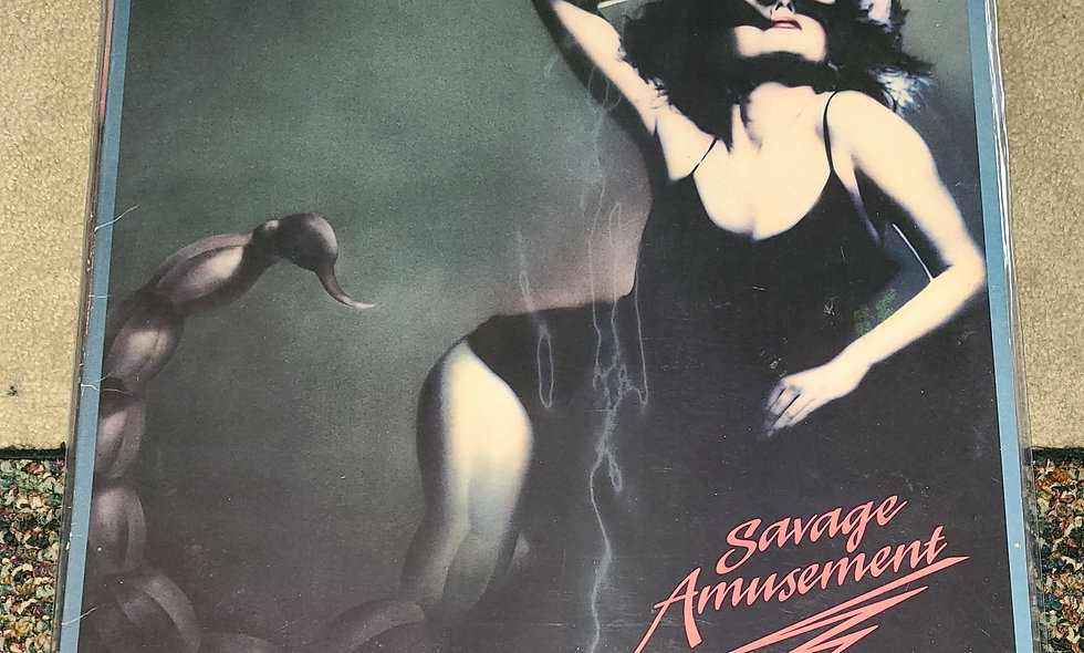 Scorpions : Savage Amusement - Polygram/ 1988 / VG / Metal