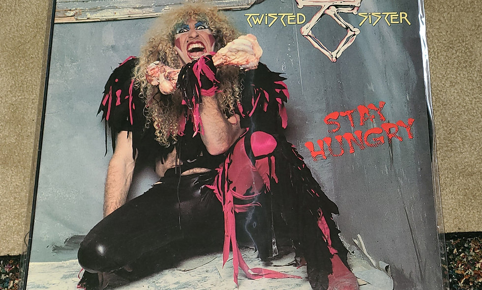 Twisted Sister : Stay Hungry - Atlantic/ 1984 / VG / Metal