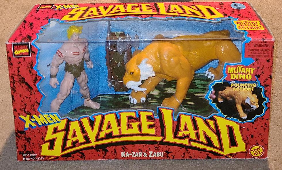 Ka Zar & Zabu - Savage Land / Marvel - ToyBiz 1997