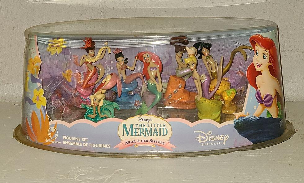Little Mermaid - Figurine Set - Disney Store Exclusive