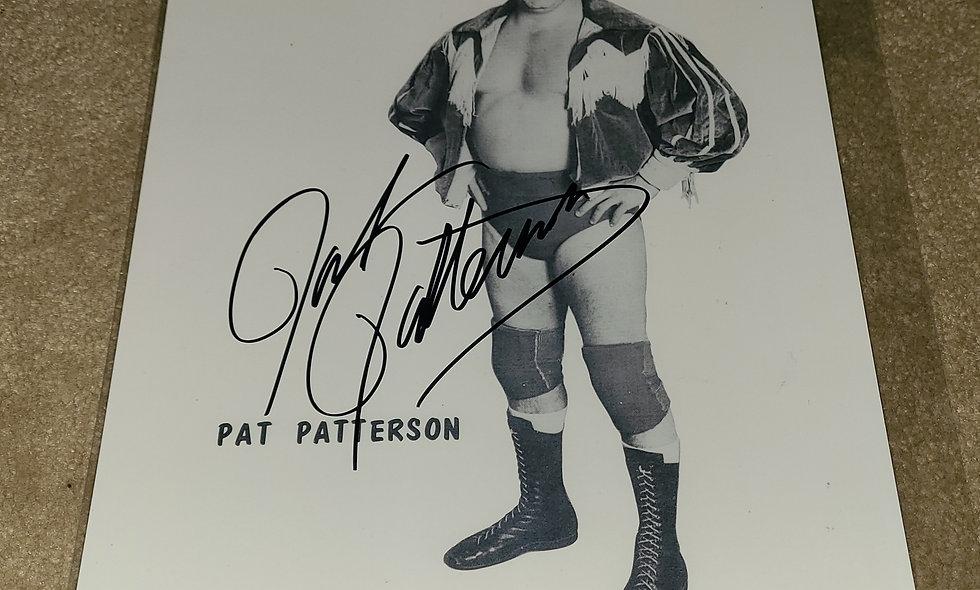 Pat Patterson - WWF / NWA - Autographed 8×10