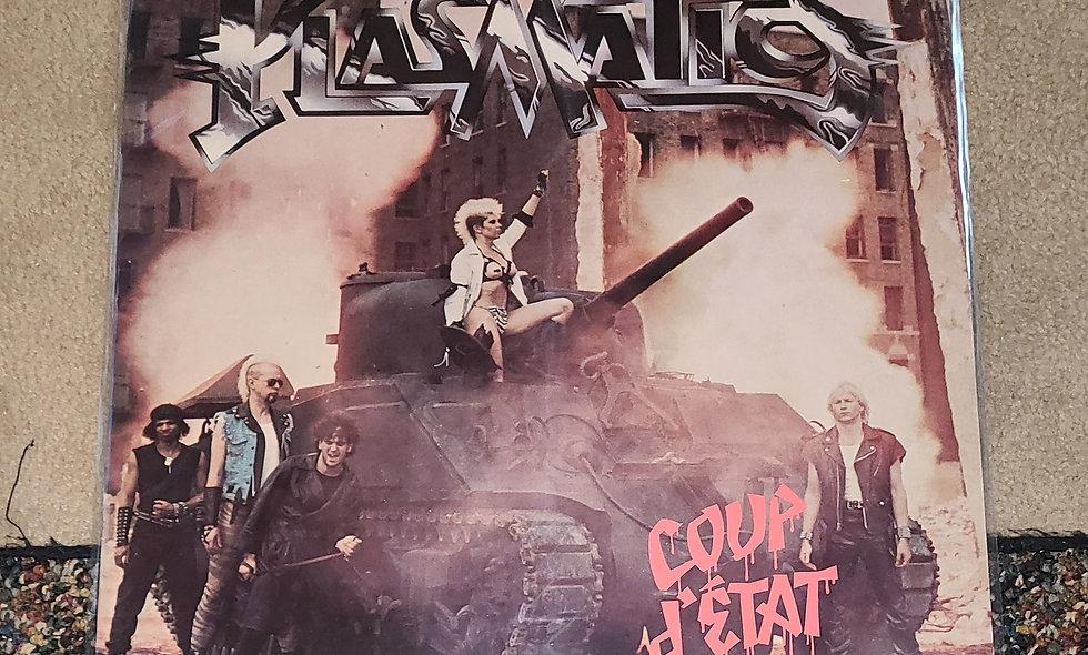 Plasmatics : Coup d'etat - Capital / 1982 / VG / Punk