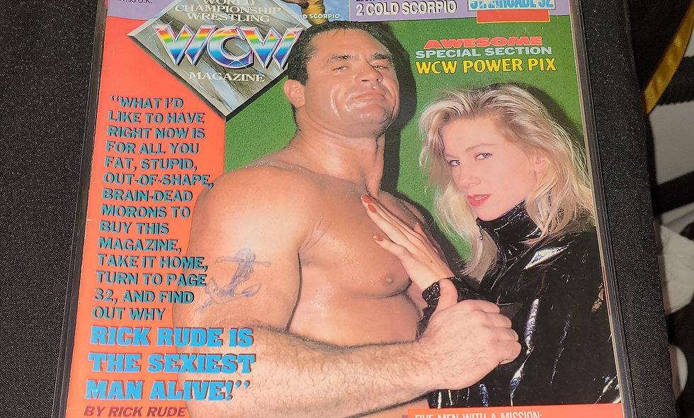 WCW Magazine  :  April 1993