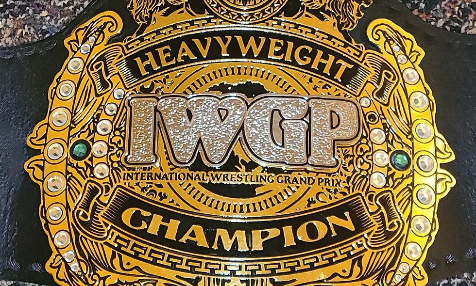 NJPW : IWGP Heavyweight Champion Belt - Replica 2mm Brass