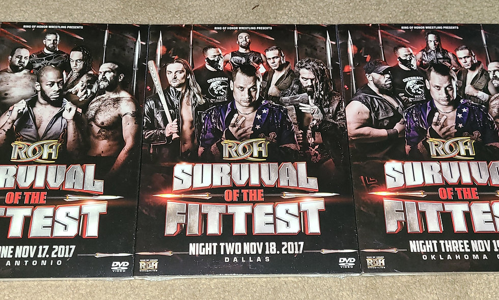 ROH - Survival Of The Fittest - 3 Events - 11/17, 11/18, 11/19/2017