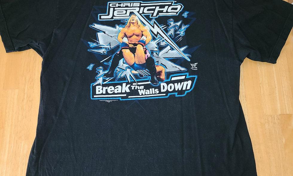 *Preowned  - Chris Jericho (Break The Walls Down) T-Shirt Size 2X