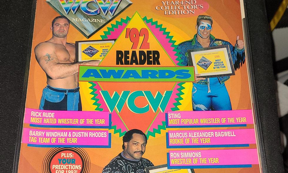 WCW Magazine  :  March 1993
