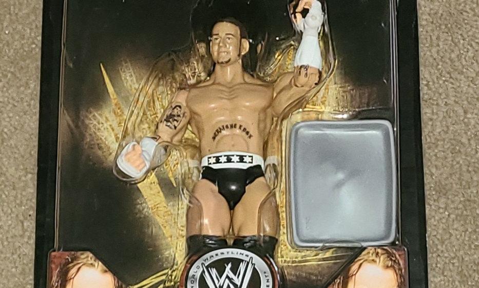 WWE : Road To Wrestlemania 24 : CM Punk : Series 3 - 2008 Jakks