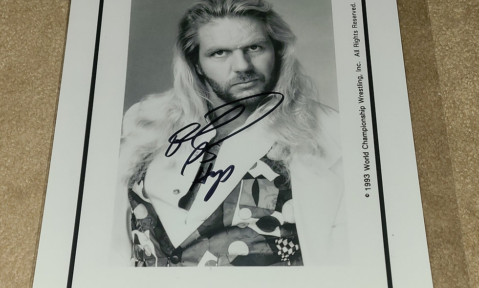 Michael P.S. Hayes - WCW / WWF / WWE - Autographed 8×10