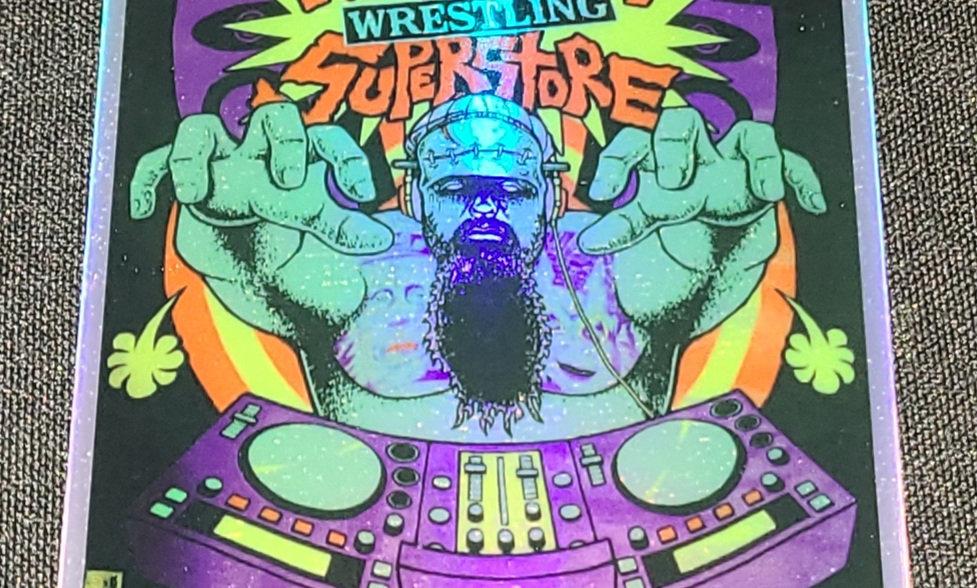 Holographic FWS (DJ) Sticker x 2