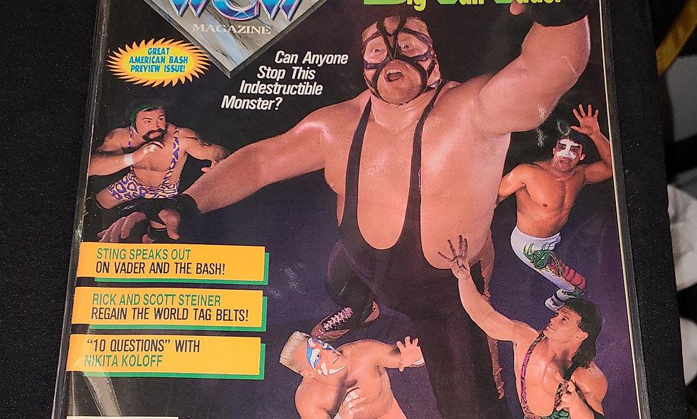 WCW Magazine  :  August 1992