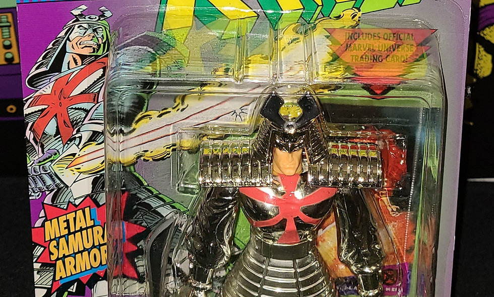 Marvel X-Men - Silver Samurai - ToyBiz 1994