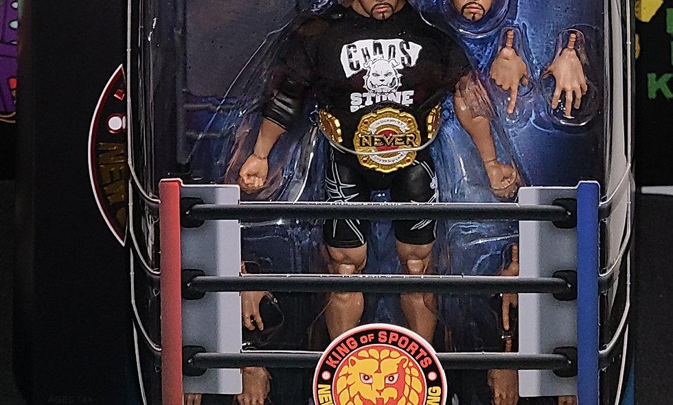 NJPW - Tomohiro Ishii Figure - Super 7