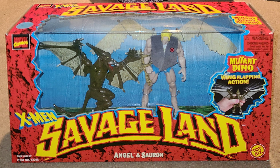 Angel & Sauron - Savage Land / Marvel - ToyBiz 1997