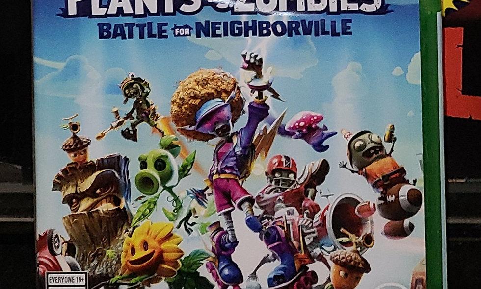 Xbox One - Plants vs Zombies : Battle For Neighborhood - *NEW