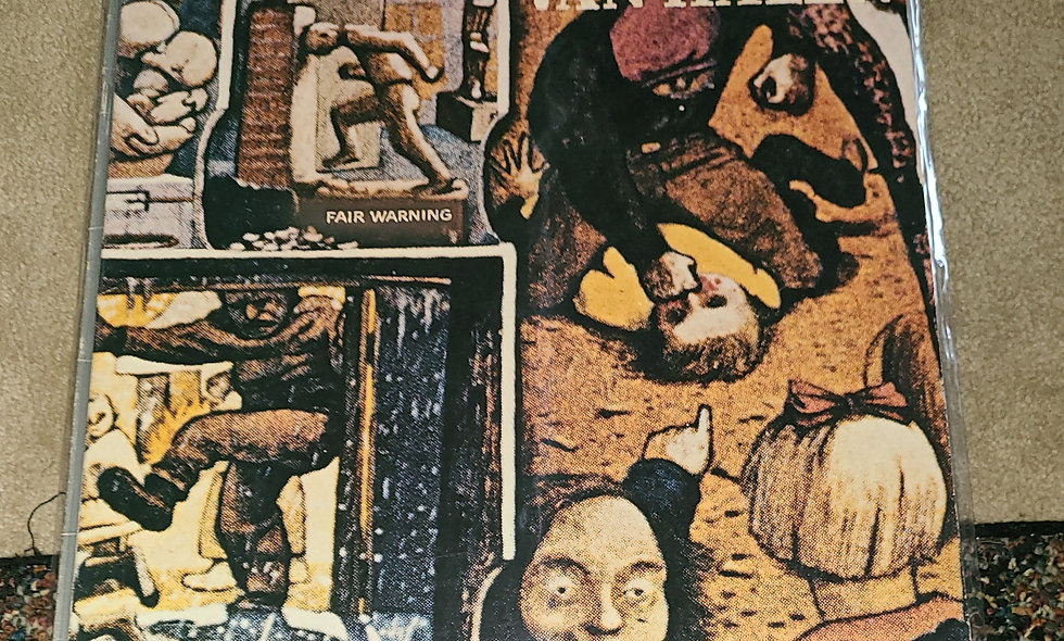Van Halen : Fair Warning - WB / 1981 / Good / Rock