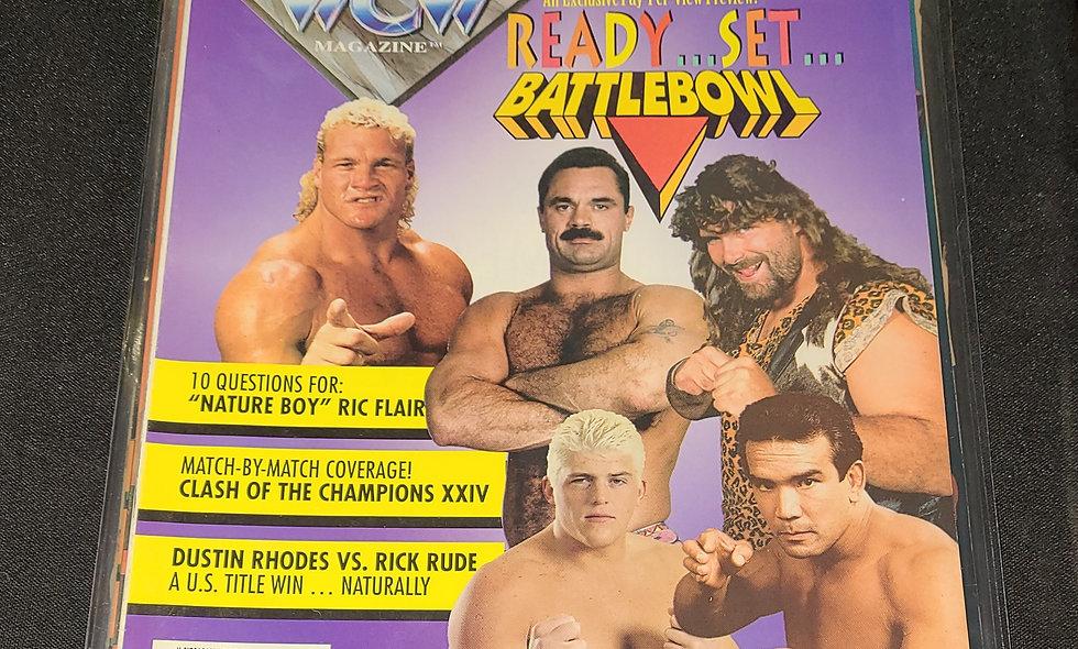 WCW Magazine  : December  1993