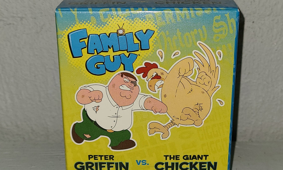 Family Guy - Peter Griffin vs Giant Chicken - Blind Box 2012