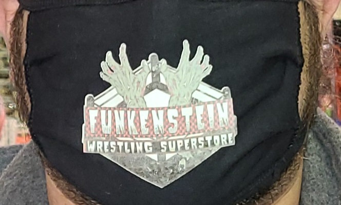 Exclusive Funkenstein Wrestling Superstore Mask - One Size Fits All