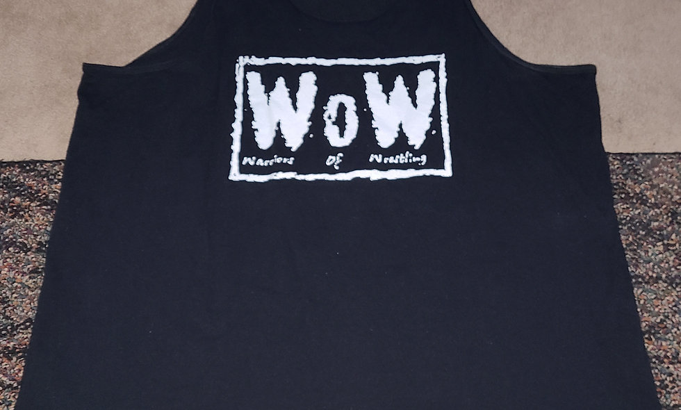 WOW : Warriors Of Wrestling : Bad Boys - 2x Tank Top New