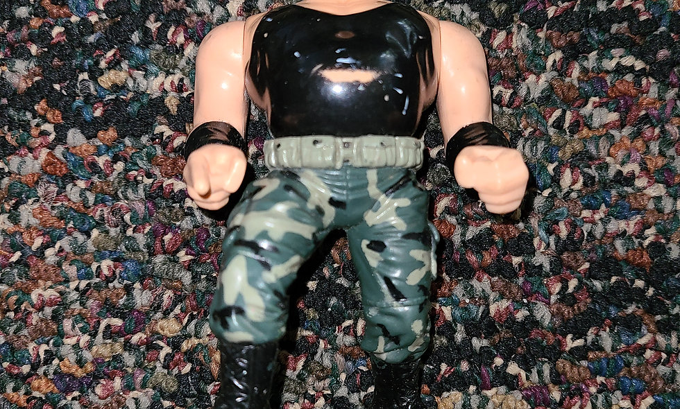 WWF Hasbro  - SGT Slaughter - Action Figure - *Action Works